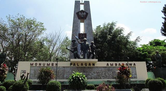 Monumen Bersejarah Indonesia Pasca Kemerdekaan Ulinulin Palagan Ambarawa Bandung Lautan