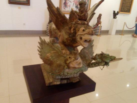 Museum Pasifika Entrance Picture Nusa Dua Collectie 2 Kab Badung
