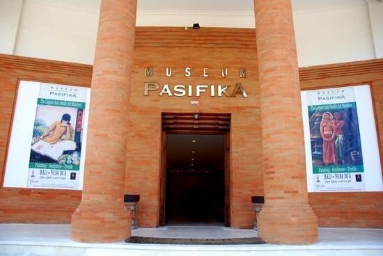 Museum Pasifika Entrance Picture Nusa Dua Kab Badung