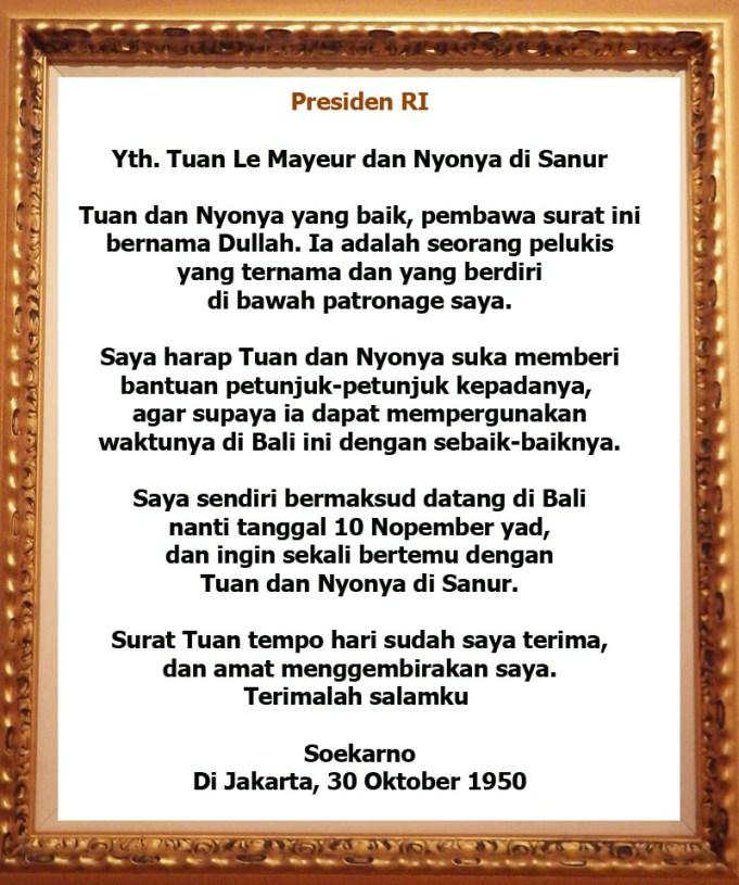 Museum Pasifika Simpan Surat Presiden Soekarno Aktual Mangupura Nusa Dua