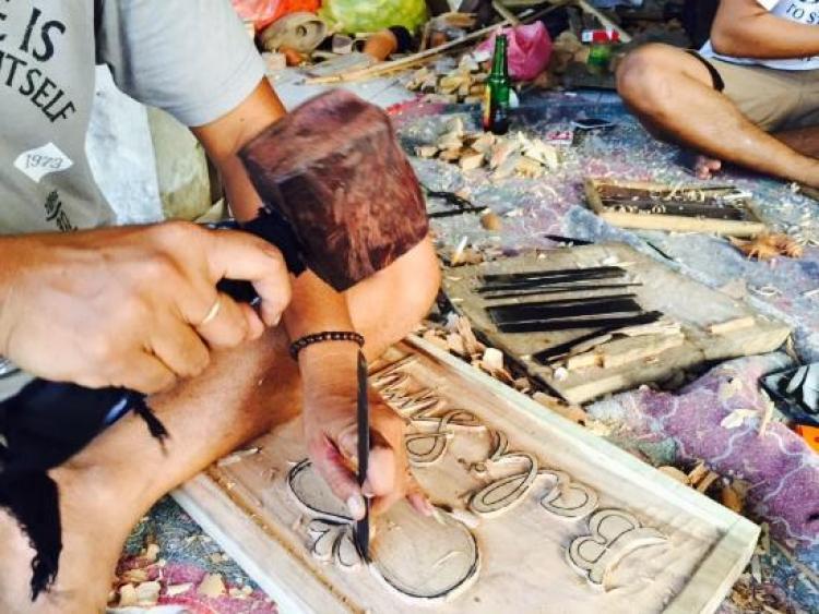 Wood Carving Class Museum Pasifika Vokamo Kab Badung
