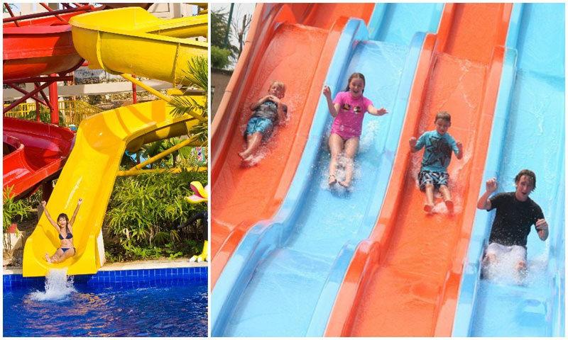 9 Bali Beach Resorts Amazing Water Slides Kid Pools Photo