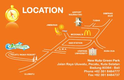 Bali Weather Forecast Map Info Location Kuta Green Park Pecatu