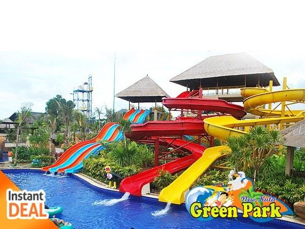 Kuta Green Park Bali Jual Voucher Wahana Rekreasi Air Termurah