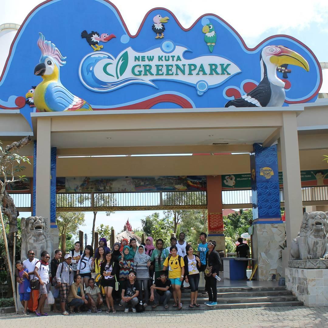 Kuta Green Park Bali Wisata Air Pilihan Keluarga Reresepan Pecatu