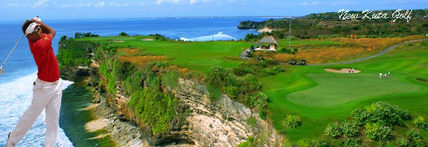 Pecatu Indah Resort Integrated Development Kuta Golf Ocean View Green