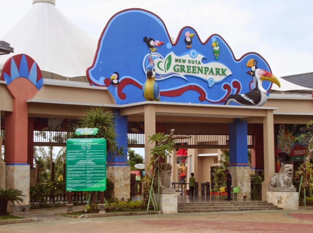 Tempat Wisata Bali Kuta Green Park Pecatu Water Kab Badung