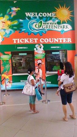 Ticket Counter Picture Kuta Green Park Tripadvisor Pecatu Kab Badung