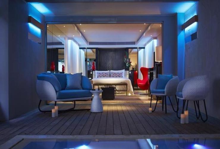 Double Luxury Hotel Seminyak Indonesia Pantai Kab Badung