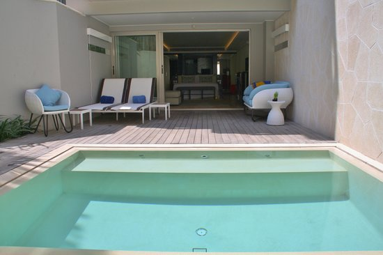 Private Plunge Pool Picture Double Luxury Hotel Seminyak Pantai Kab