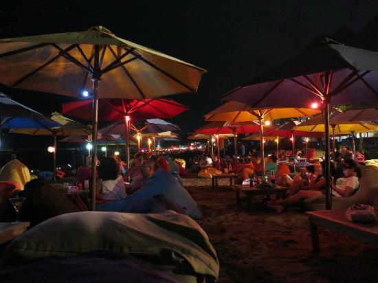 Sunset Double Beach Picture Seminyak Pantai Kab Badung