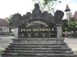 Puja Mandala Bali Symbol Bhineka Tunggal Ika Indonesia Catholic Maria