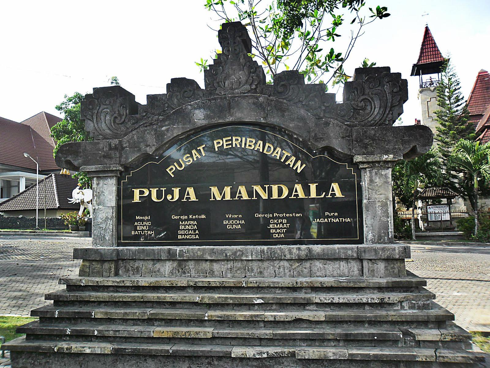 Puja Mandala Tempat Dimana 5 Agama Saling Toleransi Vakansee Kab