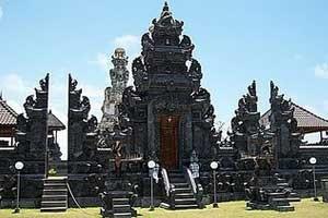 Pusat Peribadatan Puja Mandala Bali Bangunan Pura Kab Badung