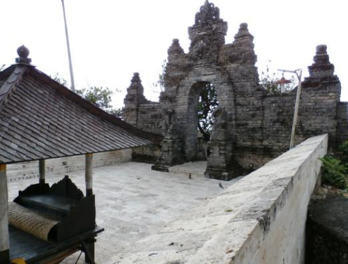Pesona Candi Uluwatu Bali Indonesia Edisi Bisnis Pura Luhur Salah