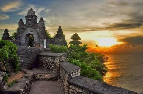 Pura Luhur Uluwatu Bali Semara Kab Badung