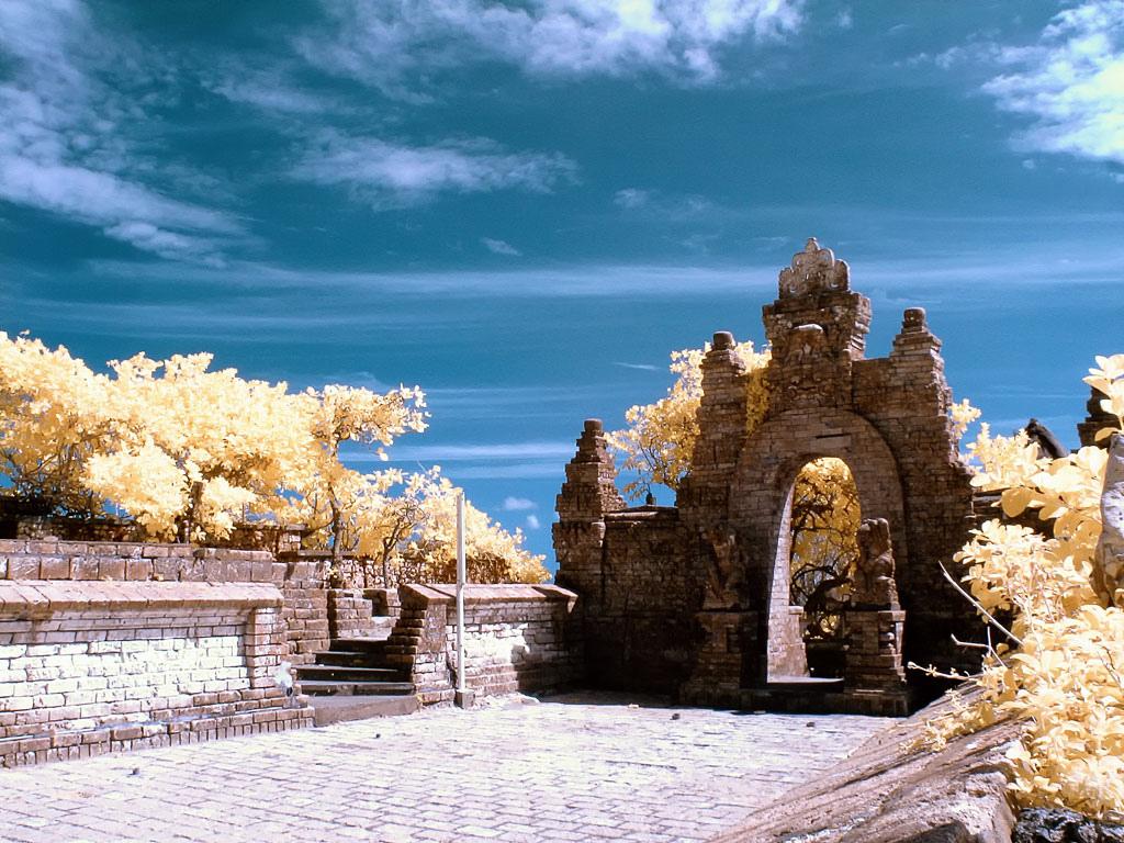 Pura Luhur Uluwatu Balinese Sea Temple Pecatu Asean Travelling Kab