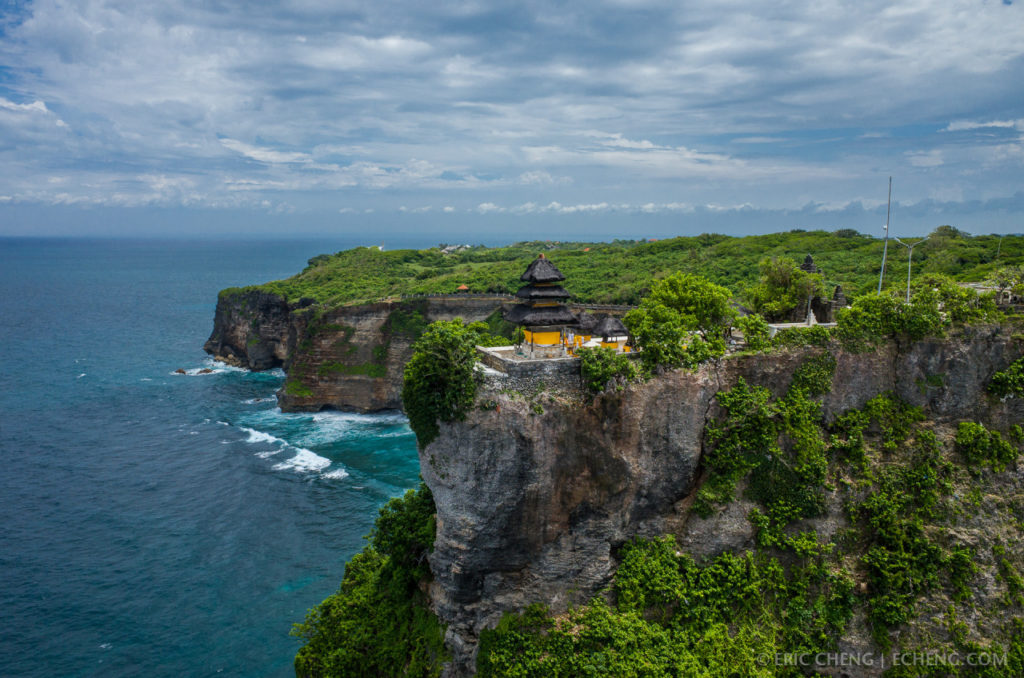 Pura Luhur Uluwatu Cantik Pemandangan Laut Indah Keindahan Bali Kab