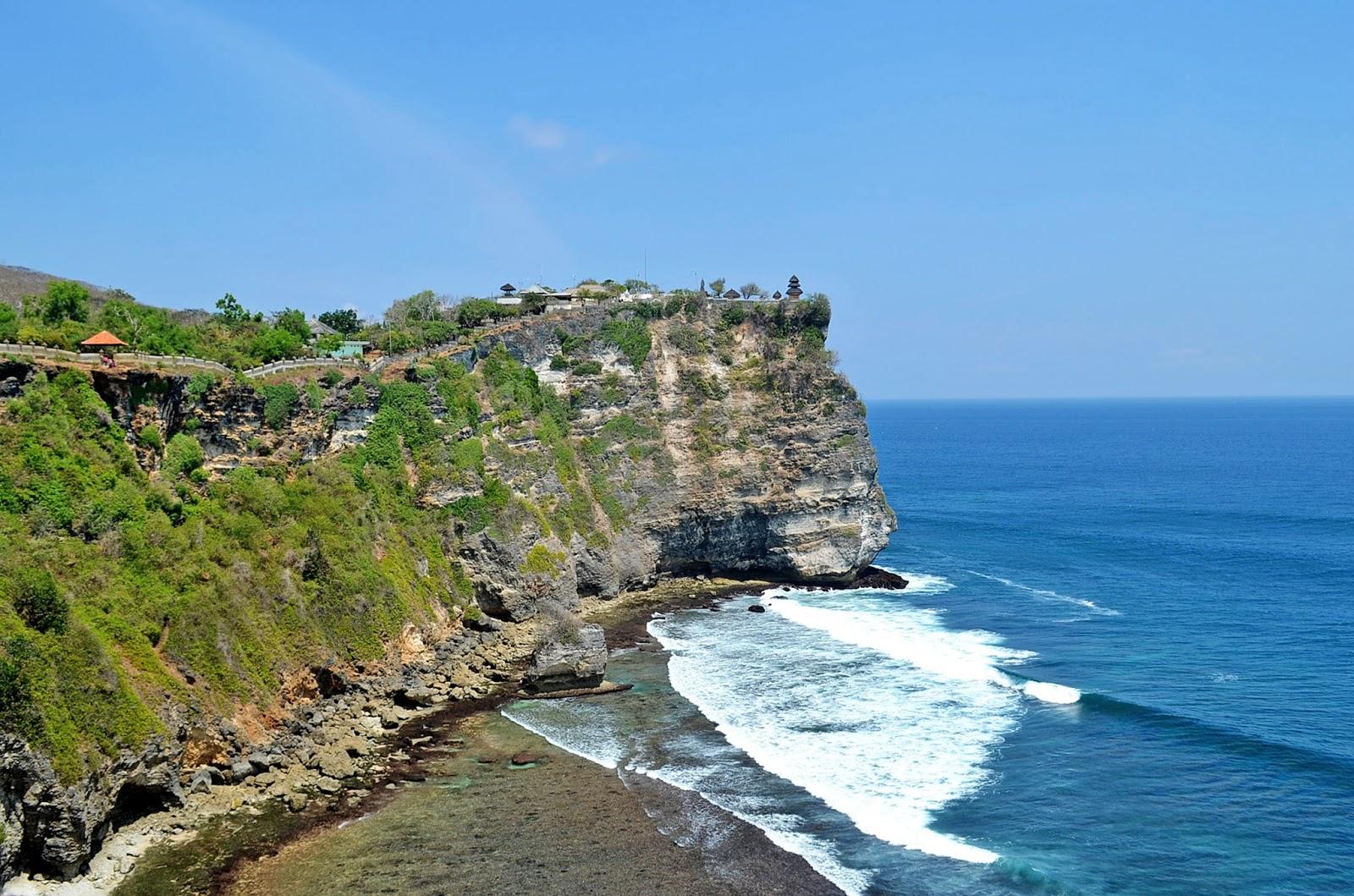 Trip Bali Indonesia Uluwatu Temple Pura Luhur Oldest Thousand Year