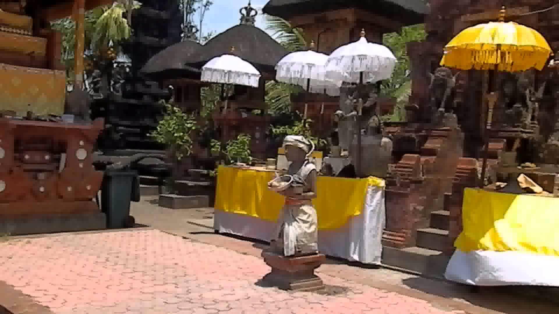 Bali Visting Spectacular Hindu Temple Pura Petitenget Indonesia Kab Badung