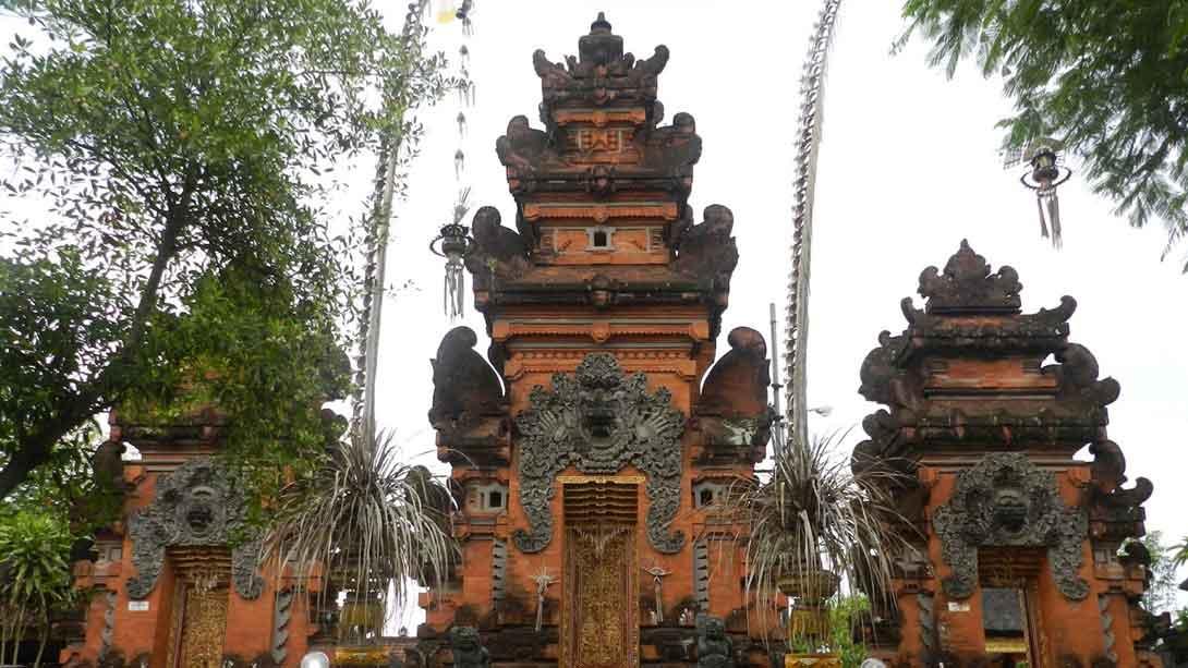 Petitenget Beach Won Find Place Vacation Temple Pura Kab Badung
