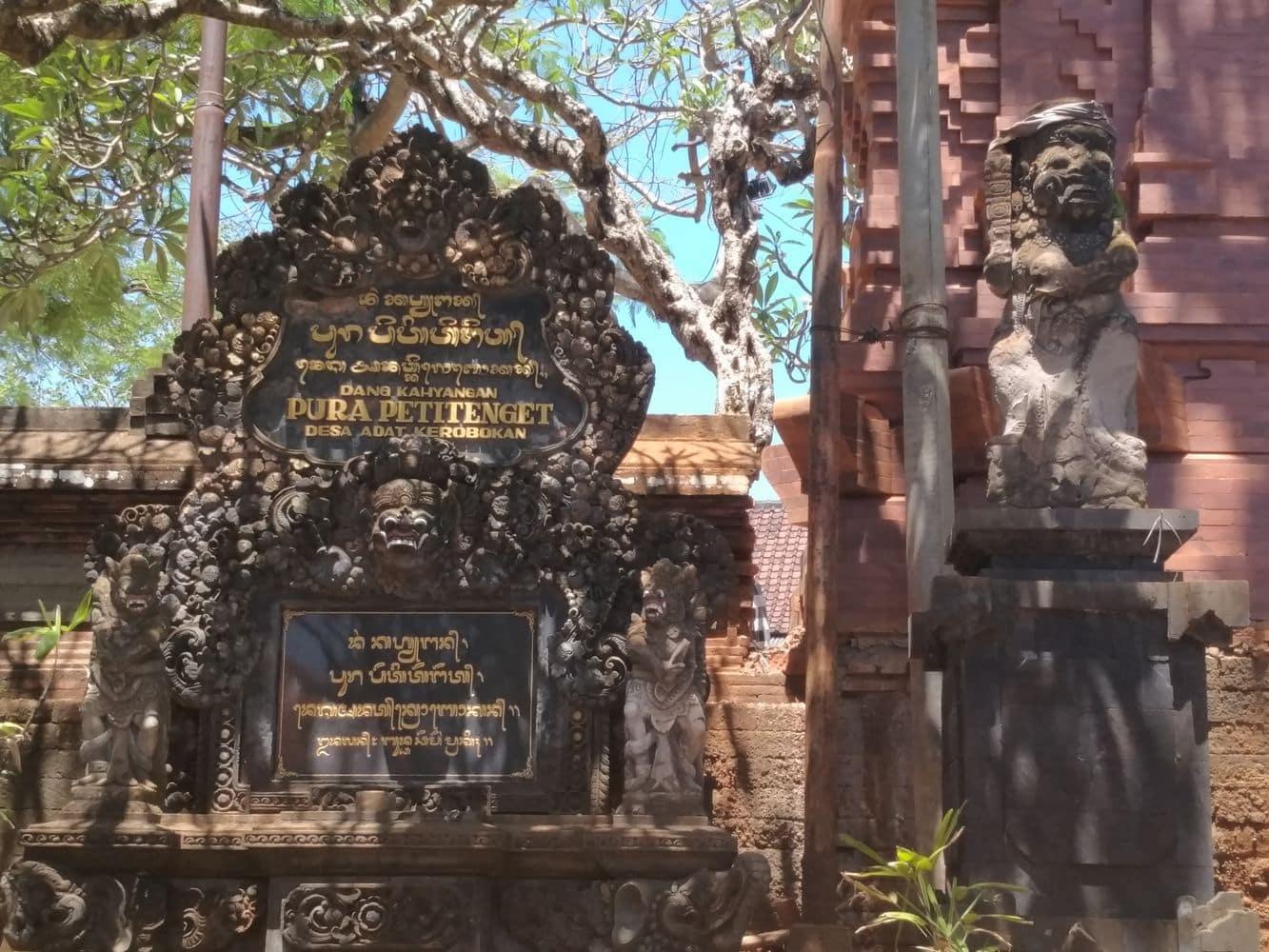 Petitenget Temple Kuta Bali Entry Fee Dress Code Pura 00019
