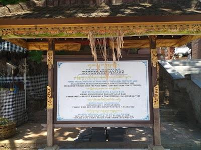 Pura Masceti Petitenget Bali Kab Badung