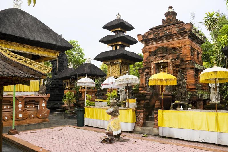 Pura Petitenget Bali Indonesia Stock Image Hindu Download Hinduism Kab