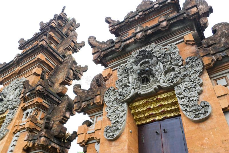 Pura Petitenget Bali Indonesia Stock Image Pray Download Entrance Kab
