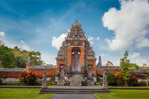 Agung Bali Driver Taman Ayun Temple Tour Big Located Mengwi