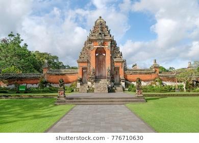 Badung Images Stock Photos Vectors Shutterstock Pura Taman Ayun Compound