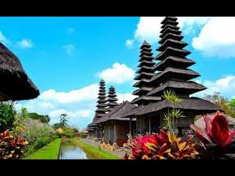 Bali Spectacular Garden Temple Pura Taman Ayun Indonesia Kab Badung