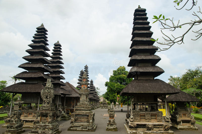 Balinese Hindu Temple Taman Ayun Mengwi Bali Indonesia Stock Download