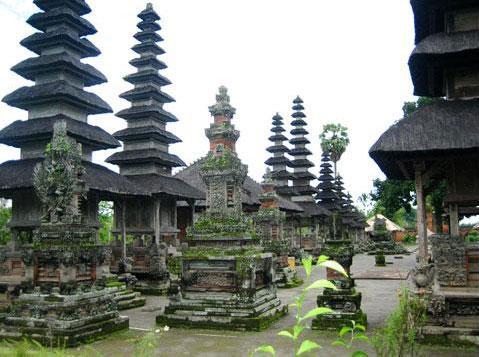 Indonesian Tourism Overview Taman Ayun Temple Badung Pura Kab