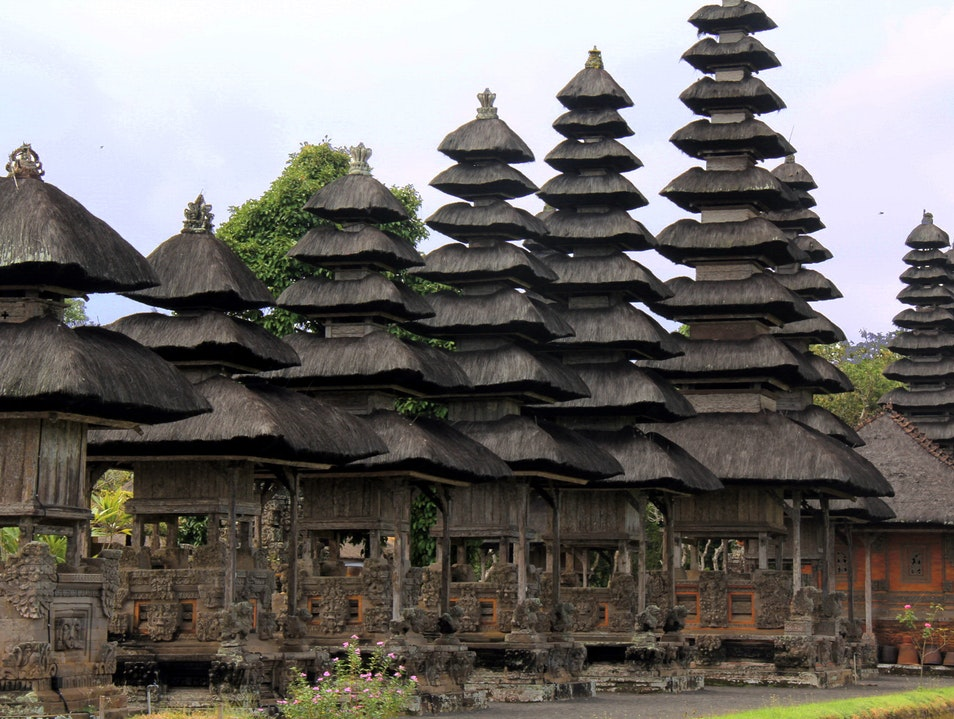 Pura Taman Ayun Mengwi Afar Bali Royal Temple Unesco Listed