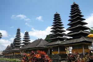 Pura Taman Ayun Mengwi Bali Tour Terletak Desa Kabupaten Badung
