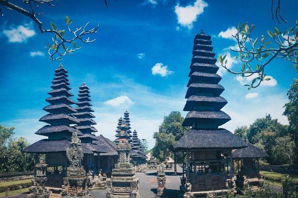 Pura Taman Ayun Mengwi Punapi Bali Kab Badung