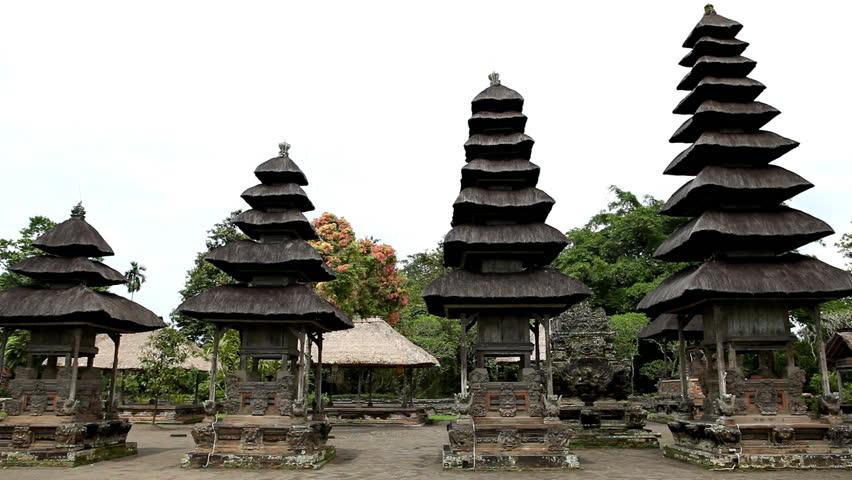 Pura Taman Ayun Royal Temple Mengwi Village Badung Regency Bali