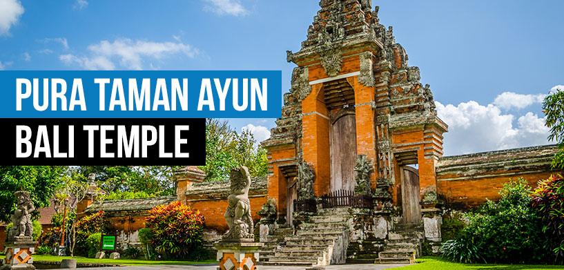 Pura Taman Ayun Temple Destination Unknown Kab Badung