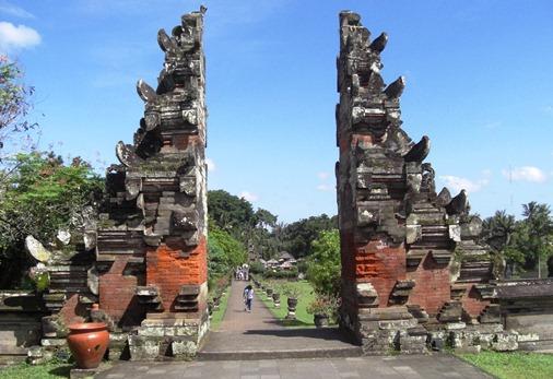 Taman Ayun Royal Temple Mengwi Bali Pura Bell Tower Kab