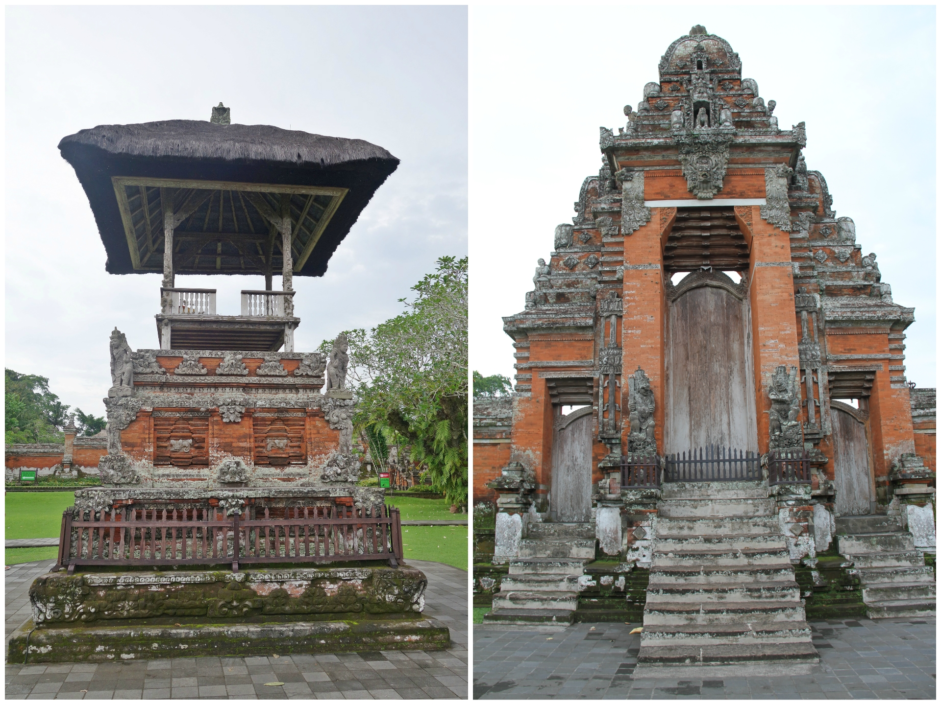 Taman Ayun Temple Bali Scenes Nadine 3 Pura Kab Badung