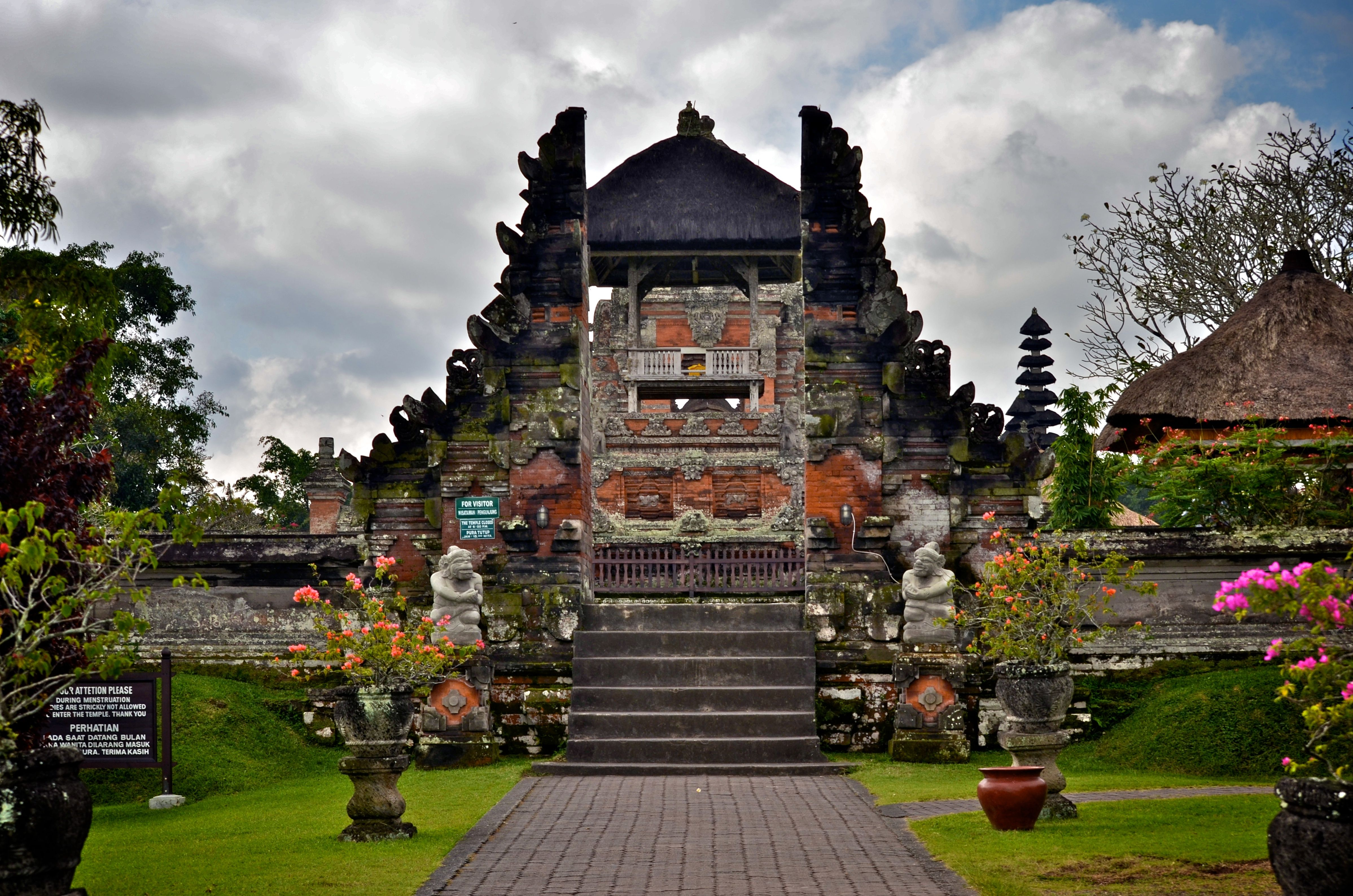 Taman Ayun Temple Royal Family Mengwi Badung Regency Bali Pura