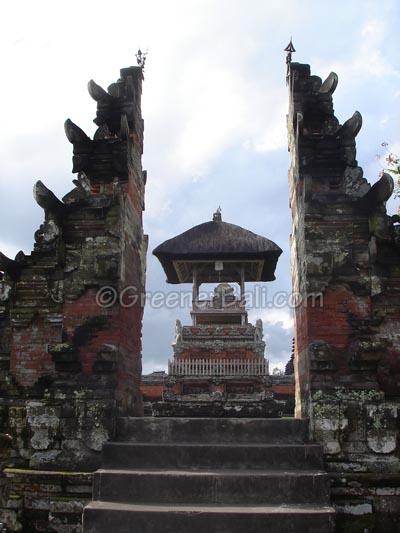 Temple Mengwi Floating Lake Gate Pura Taman Ayun Kab Badung
