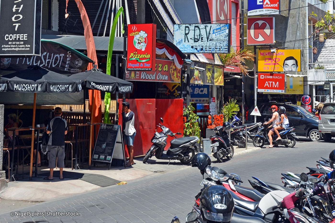 Seminyak Beach Shopping Shop Buy Jalan Raya Street Square Kab