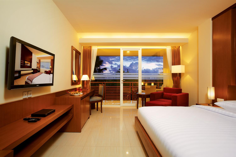 Seminyak Square Hotel 01 Deluxe Bedroom 1 Kab Badung