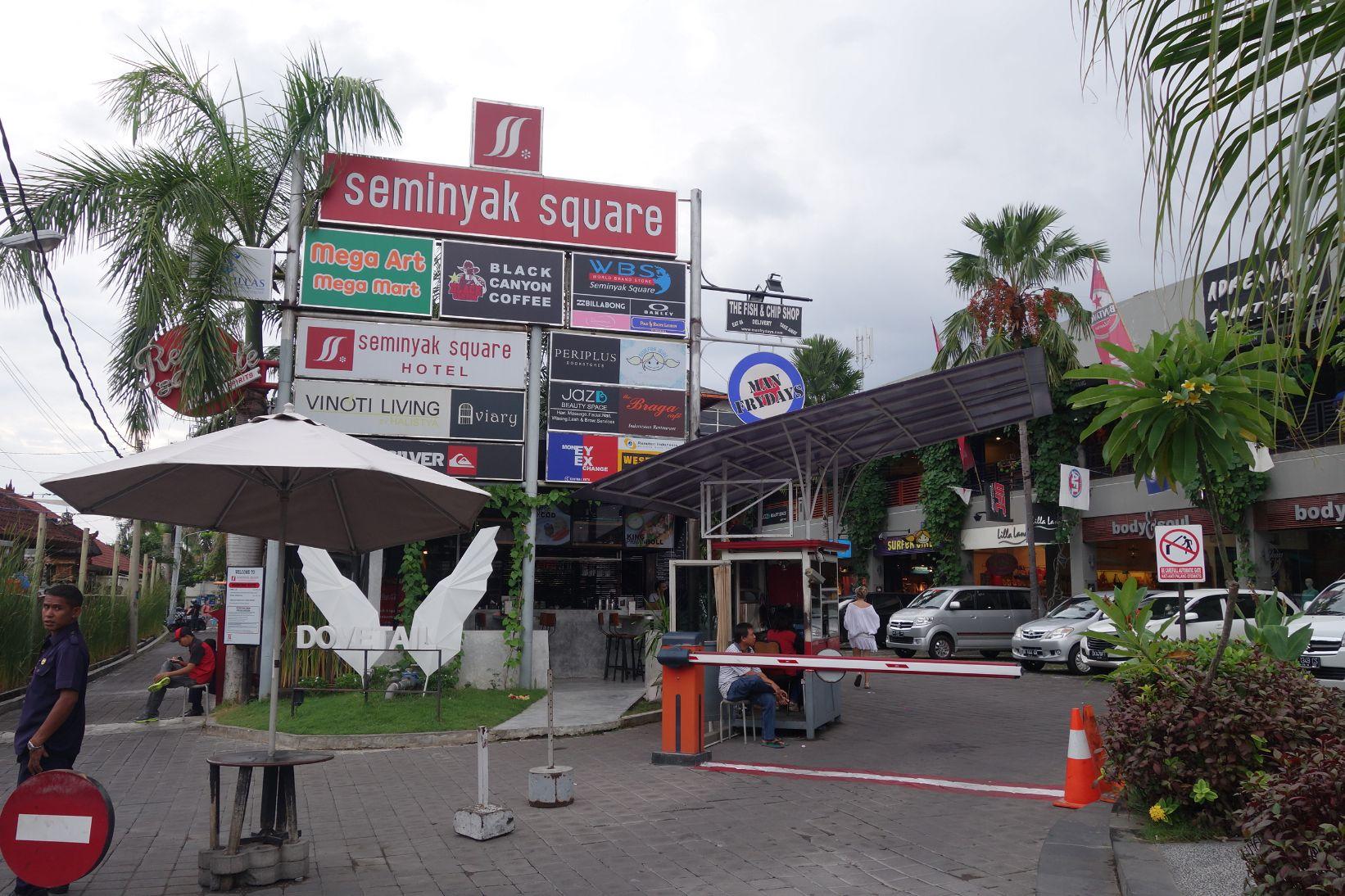 Seminyak Village Square Gelato Factory Scenes Mega Art Mart Mike