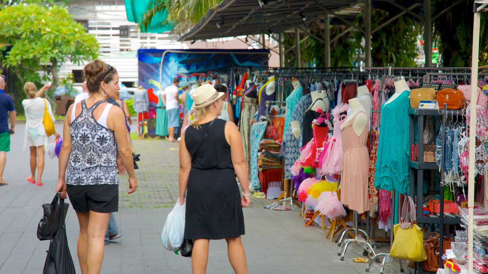 Shopping Pictures View Images Seminyak Square Showing Markets Street Scenes