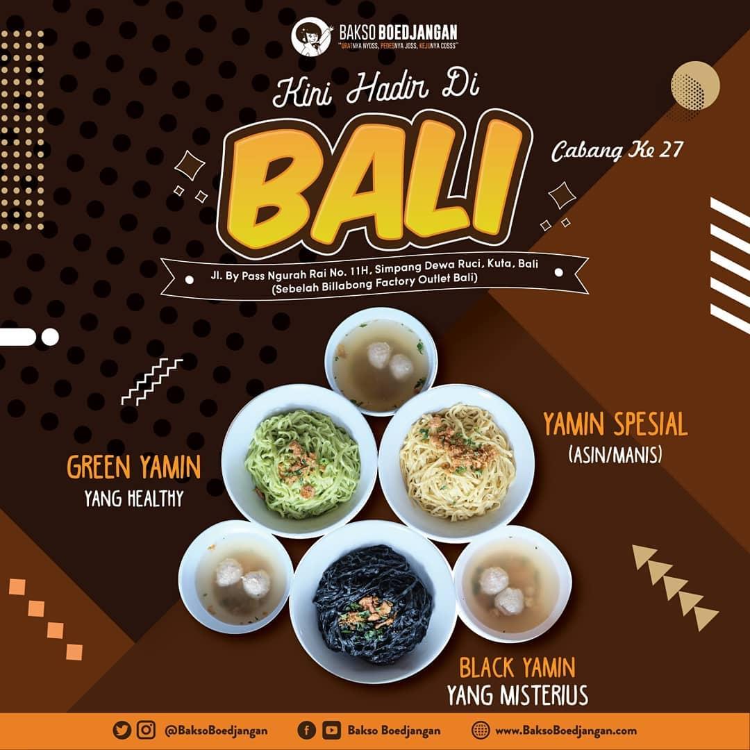 Bakso Keju Makassar Instagram Om Swastyastu Kabar Gembira Baksoboedjangan Cabang