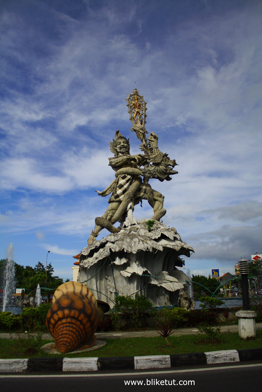 Bali Photo Gallery Simpang Siur Kuta Patung Dewa Ruci Kab