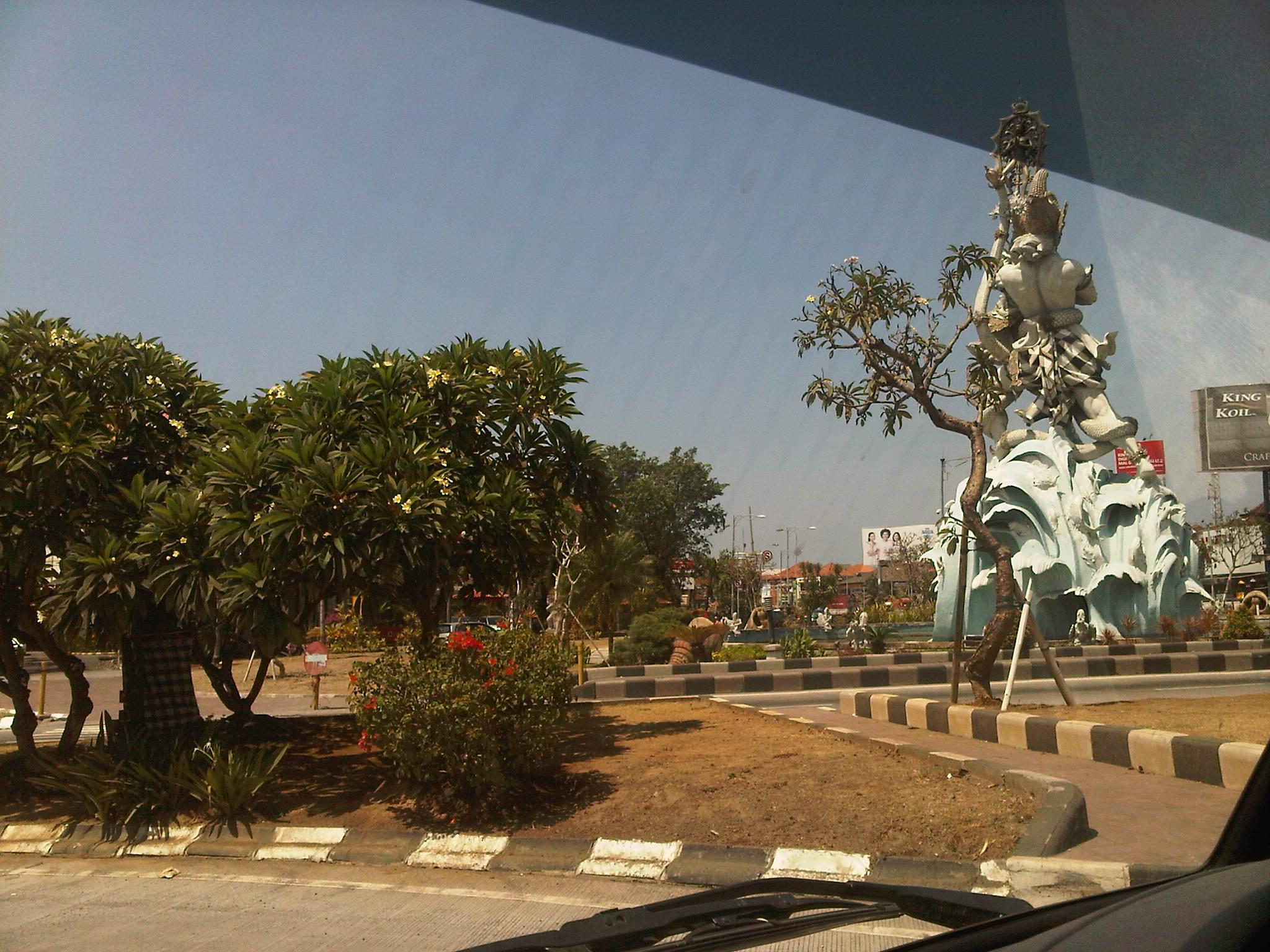 Patung Dewa Ruci Bali Komodo News Simpang Kab Badung